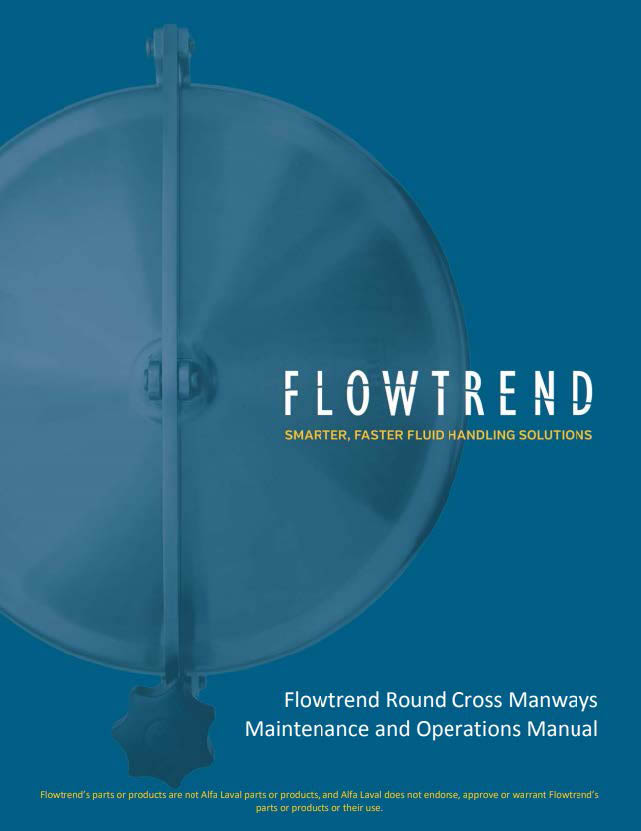 Maintenance Operations Manuals, Flowtrend Manway Maintenance Operations Manual