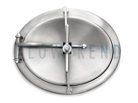 "FTOA-A-580x480-76-N-3A 1 304SS (Entry is 450x350) 18""x14"", 3.0"" Collar"